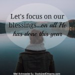 Looking Back And Seeing The Blessings