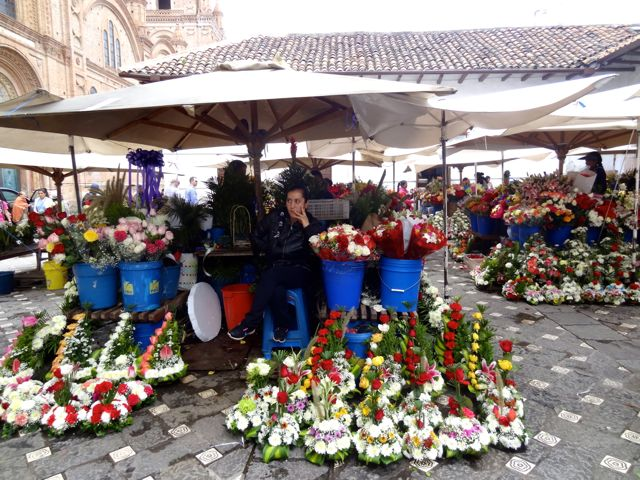 flower marken in Cuenca