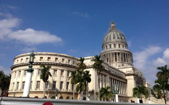 "The capital in Havana, ""Just like Washington's!"""