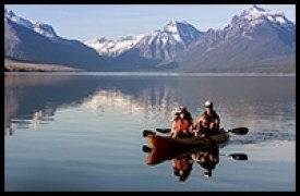 Glacier National Park, Book Online, Kayak, Rental, Single, Tandem, Chid, ocean kayak, Lake McDonald, Apgar Village, Apgar, Glacier Outfitters