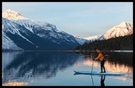 paddleboard, SUP,Rental,Glacier National Park, Apgar Village, Lake McDonald, Montana, Apgar Village, Apgar, Lake, West Glacier