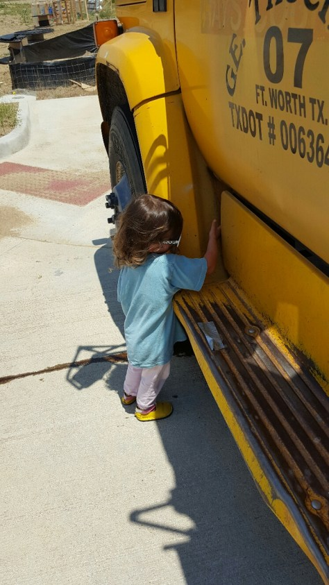 Yellow Dump Truck Hug_3