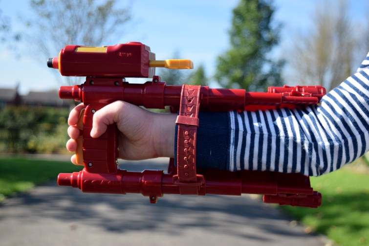 Iron Man arm extended