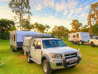Gold Coast Holiday Park Camping Sites and Rigs