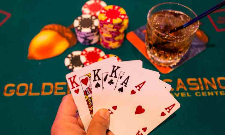 Casino table games at Golden Acorn Casino