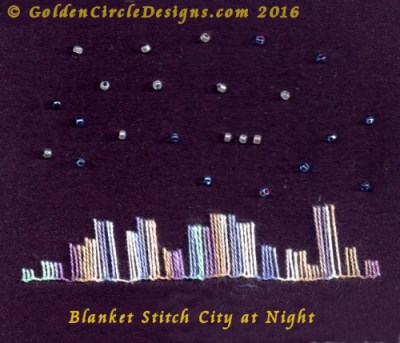 Blanket Stitch – Basic Embroidery Stitch