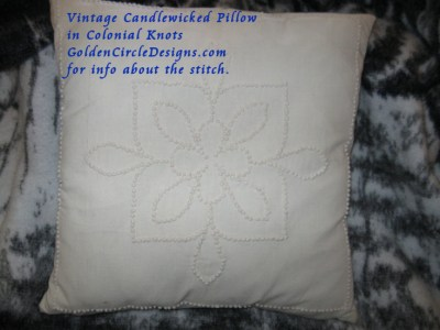 Basic Embroidery Stitches – Colonial Knot