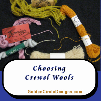 Crewel Wool – a Guide