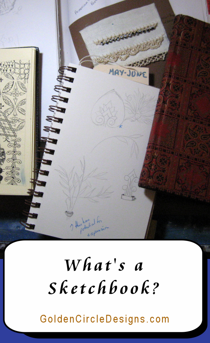 What's a sketchbook and how can I use it? What if I can't draw? That last part doesn't matter...