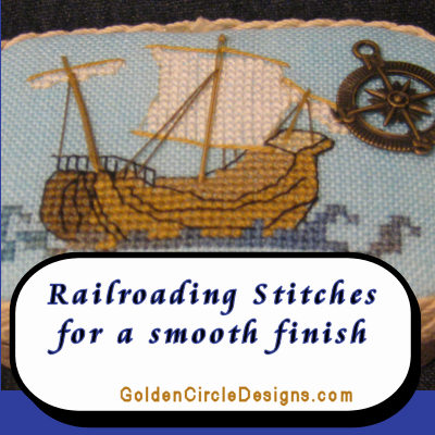Railroading Stitches for a Smooth Look