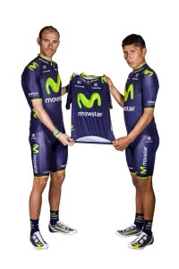 team movistar teamkit jersey saison 2014