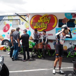 Jelly Belly ProCycling wärmt sich auf