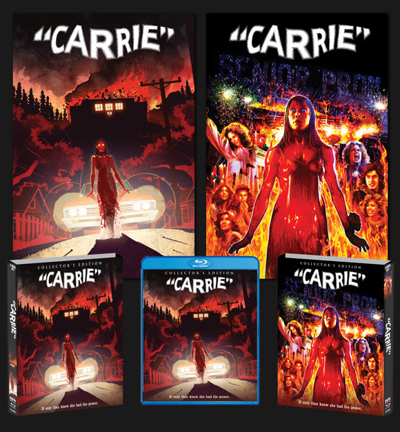 Scream Factory to Release Carrie 40th Anniversary Blu-ray Set