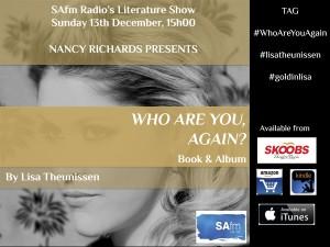 Lisa Goldin - Promo - SAFM Interview 13 December Event