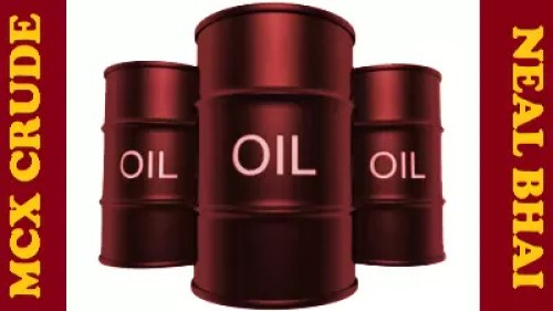 Crude MCX Intraday Trading Level 3330-3444 , Natural Gas 161-168 Level