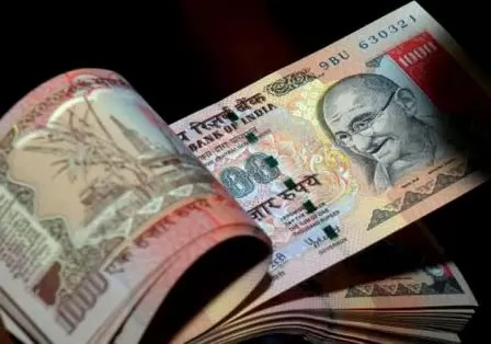 India Rupee Slip on Suspected Central Bank Intervention