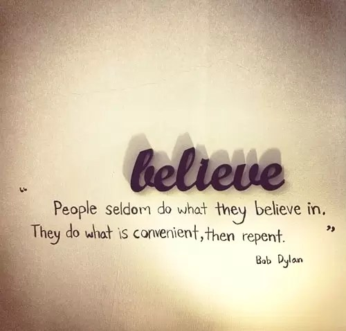 Believe Thought of The Day