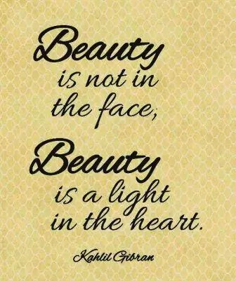 Beauty Is A Light