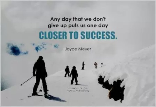 One Day Closer To Success