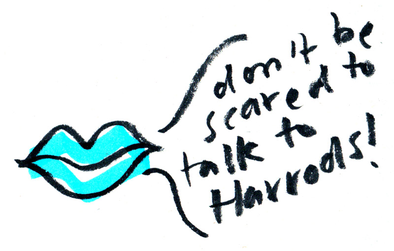 Makerhood-don't-be-scared-to-talk-to-harrods