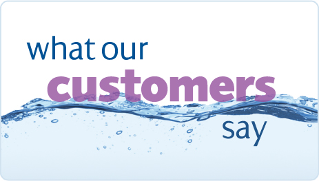 Why our customer love Gold Water Group!