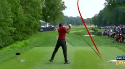 PGA Championship 2018: Tiger Woods undone by wild drive on 17 - Golf