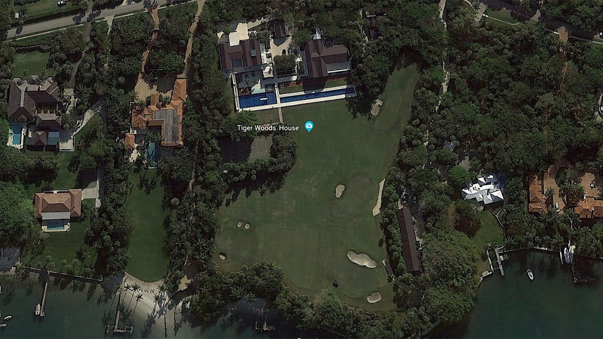 Fullsize Of Tiger Woods House