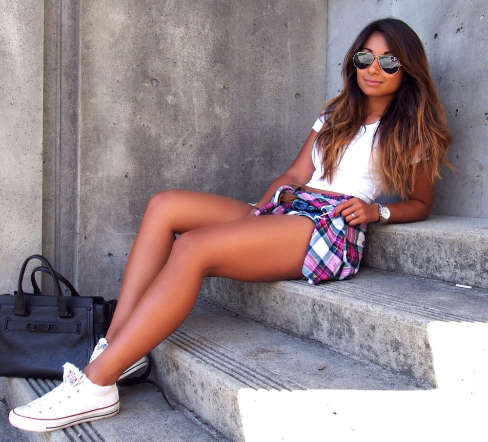 How To Style Crop Tops and Hotpants
