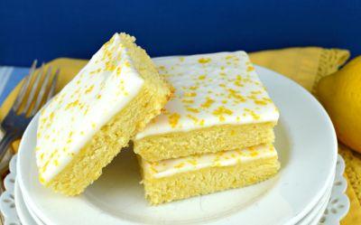 Lemon Brownies - Gonna Want Seconds