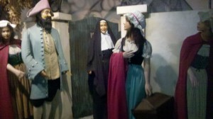 Musee Conti Wax Museum displays the Casket Girls