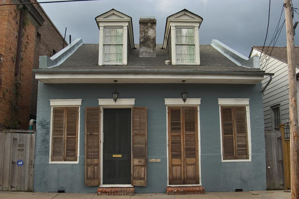 New orleans houses the creole cottage for House plans louisiana architects