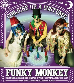 New Orleans Halloween Costumes at Funky Monkey