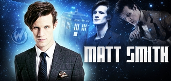 Matt Smith the 11th Doctor, Doctor Who is coming to New Orleans Comic Con