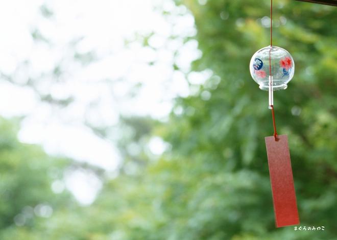 夏のギフトに涼しげな風鈴柄の掛け紙