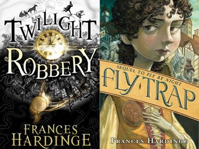 Fly Trap, Twilight Robbery, Frances Hardinge, Brett Helquist, Book Cover, Mosca Mye