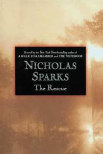 the rescue nicholas sparks book cover