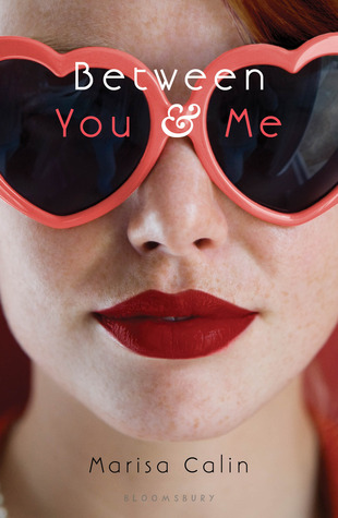 Between You And Me Marisa Calin Book Cover