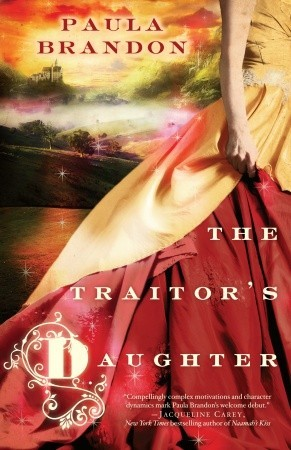 The Traitor's Daughter Paula Brandon Book Cover