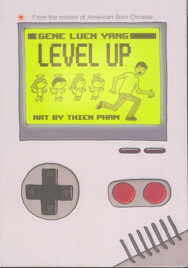 Level Up Gene Luen Yang Book Cover