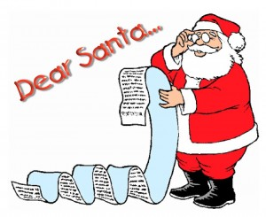 Dear Santa Graphic