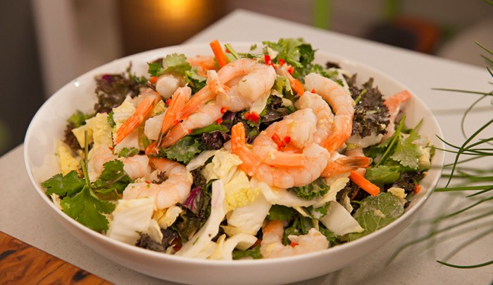 Asian-Style Prawn Coleslaw with Lime Coconut Dressing - Good Chef Bad ...