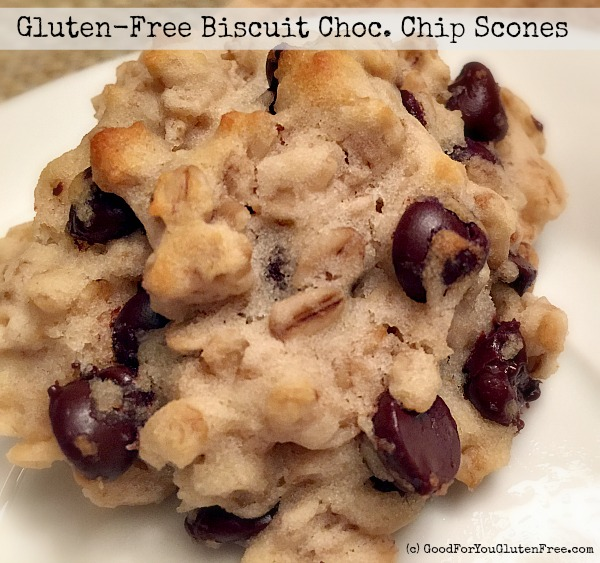Gluten-Free Chocolate Chip Scones Recipe (Using Bisquick)