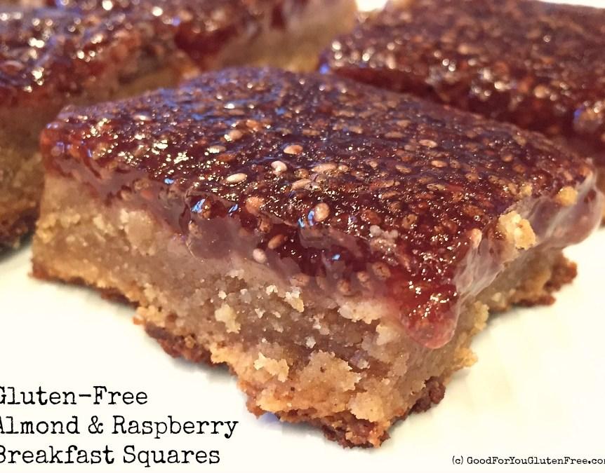 Almond Flour Raspberry Breakfast Squares