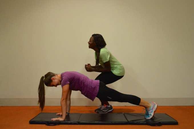 Jump Squat Planks