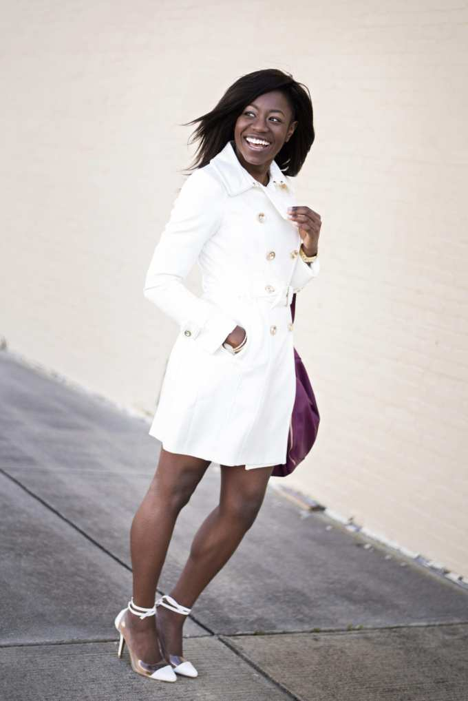 Winter white coats and where to get them | GoodTomiCha.com
