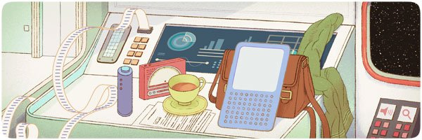 Google Doodle Douglas Adams