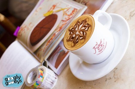 Claim Globe Rewards at Figaro Coffee