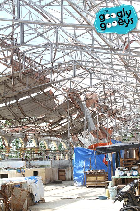Yolanda Devastation Sara Public Market in Iloilo