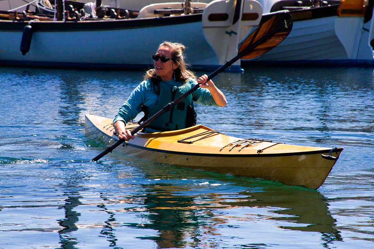Dell at Pygmy Kayaks