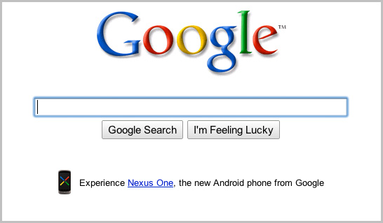 Google + Nexus One